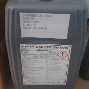 Daikin Daifree GW-4500 chất tách khuôn cao su